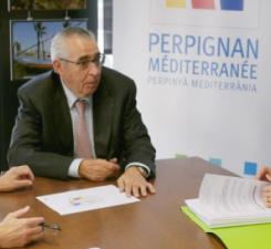 la Communauté Urbaine Perpignan Méditerranée Métropole et le Groupe Maurin automobiles