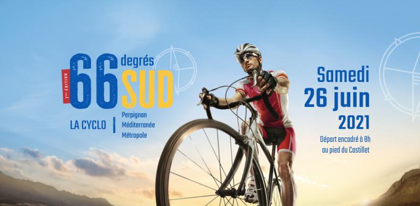 EVENEMENT OUTDOOR ! 66 degrés Sud - 3 parcours cyclotouristiques le 26 juin 2021 !